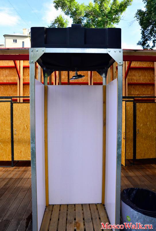 Душевая кабина своими руками в частном доме или на даче.