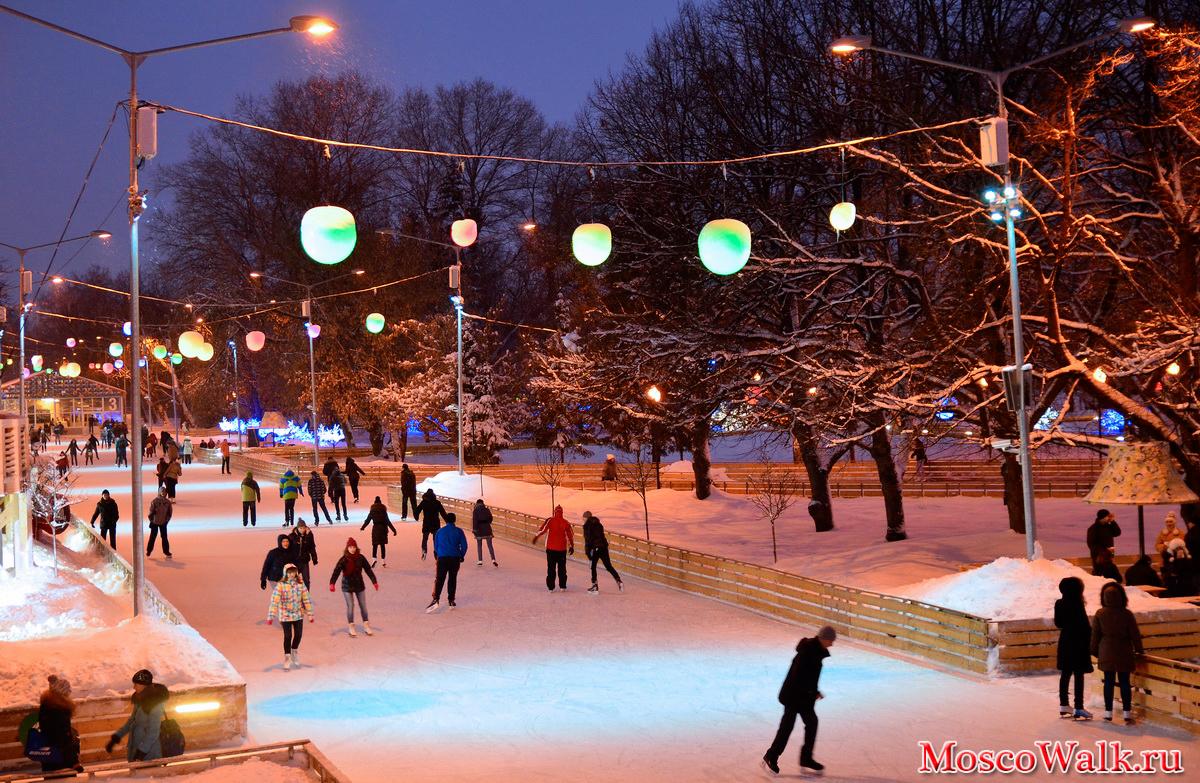 заполнение парк горького москва зимой взносы Плательщики