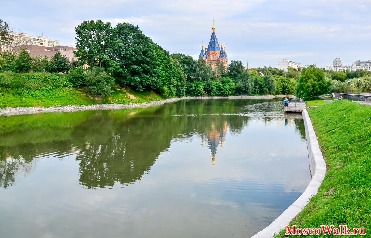 река чертановка в москве рыбалка