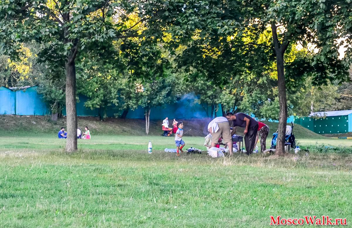 измайловский парк схема парка можно готовить шашлык