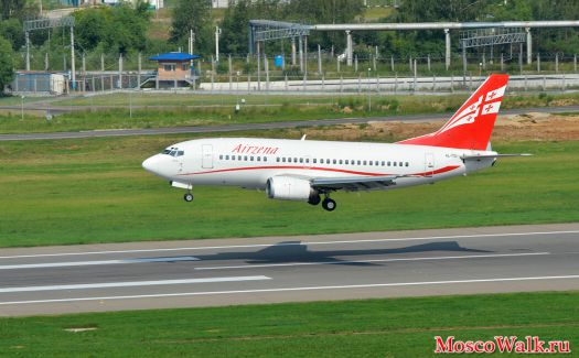 Airzena Georgian Airlines Boeing 737-505