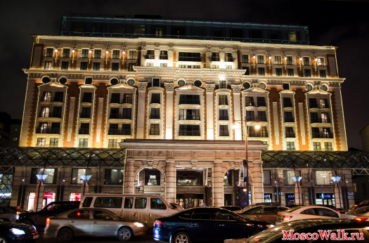 гостиница The Ritz-Carlton, Moscow