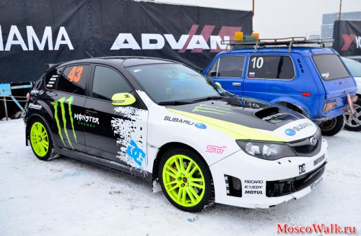 Subaru Monster Energy