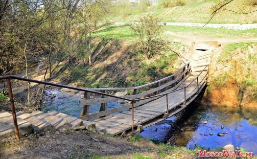Как сделать мост на речке своими руками