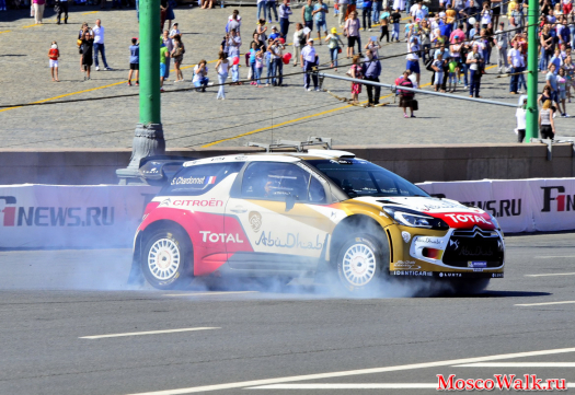 Citroёn Total на Moscow City Racing