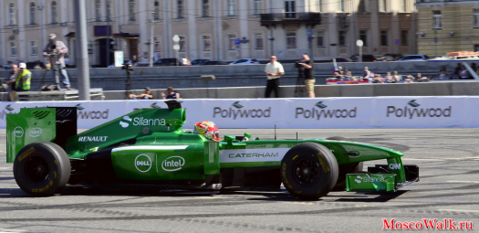 Болид команды Caterham F1 Team