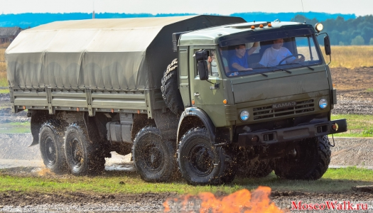 KamAZ-6350 «Mustang» army truck