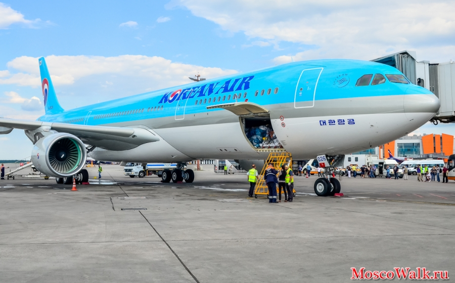 Korean Air в Москве