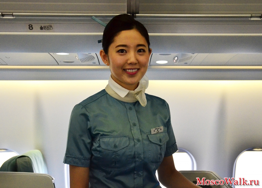 Стюардесса Korean Air