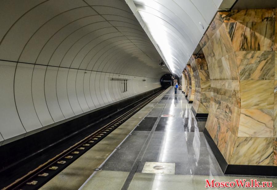 отделка станции Бутырская