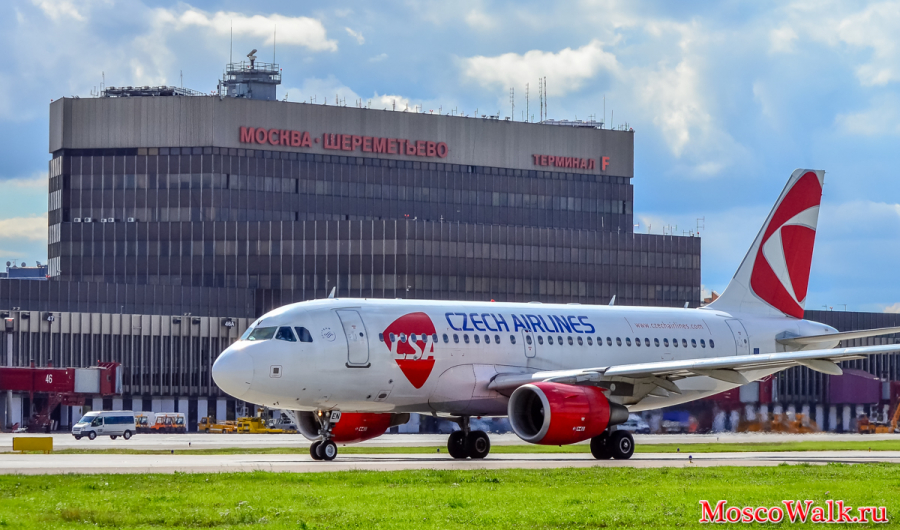 Airbus A319-112 Czech Airlines